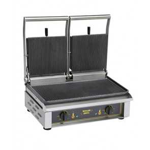 Klemgrill dobbelt Roller grill Majestic